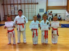 Newly Qualified 6th Kyu's