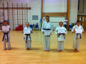 Newly Qualified 3rd & 2nd Kyu's